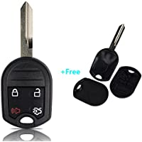 OuyFilters(TM)Keyless Entry Remote Control Car Ignition Key Fob, Free Shell Case for Ford E-150 350 450 F-150 250 350 450 550 Ranger Explorer Windstar Replace CWTWB1U793, 5912560, 164-R8070