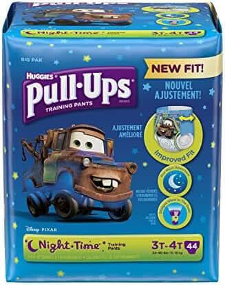 Huggies Pull-Ups Nighttime Training Pants - Boys - 3T-4T - 44 ct
