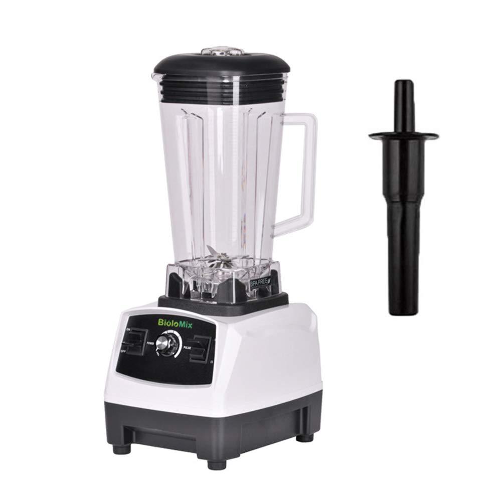 BOFEISI Heavy Duty Comercial Blender 2200W Profesional Cocina Eléctrica Alta Velocidad Mezclador Acero Inoxidable 6-Hoja Smoothe Bar Bebida De Frutas ...