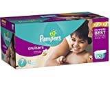 Pampers Cruisers Diapers Economy Plus Pack Size 7 (92 Count) - New!!