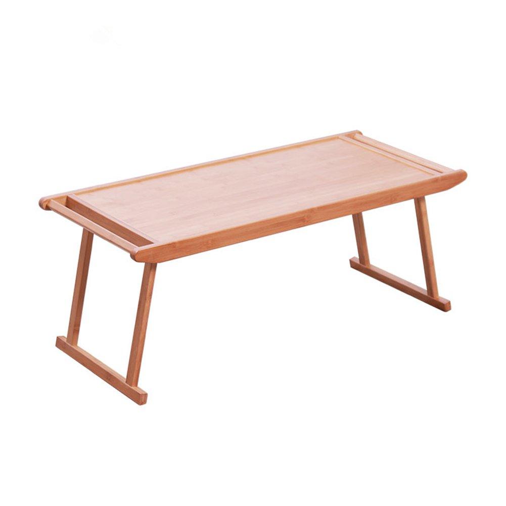 PENGFEI 竹 ベッドテーブル 多機能 ポータブル ベッド ソファーテーブル シンプル 折りたたみ可能 家具、 木の色 2サイズ (色 : 76x43x29CM) B07DS8V6WL 76x43x29CM 76x43x29CM