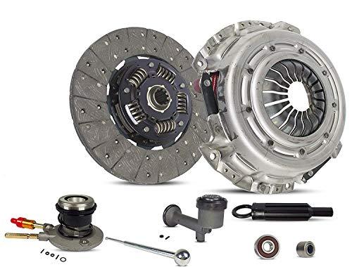 2000 Gmc Sierra Sle - Clutch Kit Master And Slave Cylinder works with Chevrolet P30 Silverado 1500 GMC P3500 Sierra1500 Sle Slt Sl Base Lt Ls 1999-2000 4.3L V6 Gas Ohv