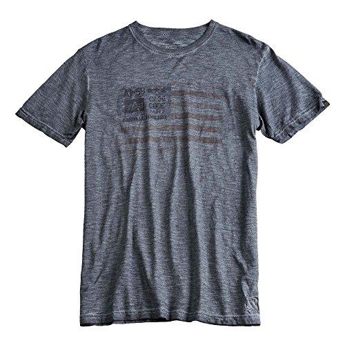 Alpha Industries T-Shirt Cage Code grau
