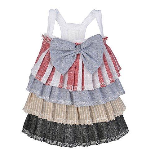 Smdoxi pet Cake Skirt Strap Dress Bow Simple Fashion Dress Dress Dog cat New Summer -