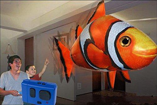 Halloween-R/c fliegender Fisch Hai Ballon Clownfische lustige Spielsachen zu betrügen