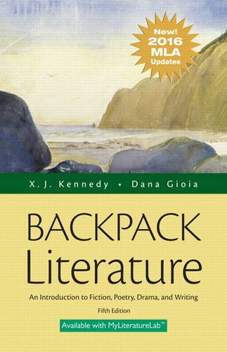 Backpack Literature Mla Update Edition