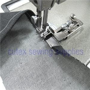 Hem Size 3 //16 CUTEX SEWING Single Up Turn Raw Edge Hemmer Hemming Attachment With Swing Away Bracket