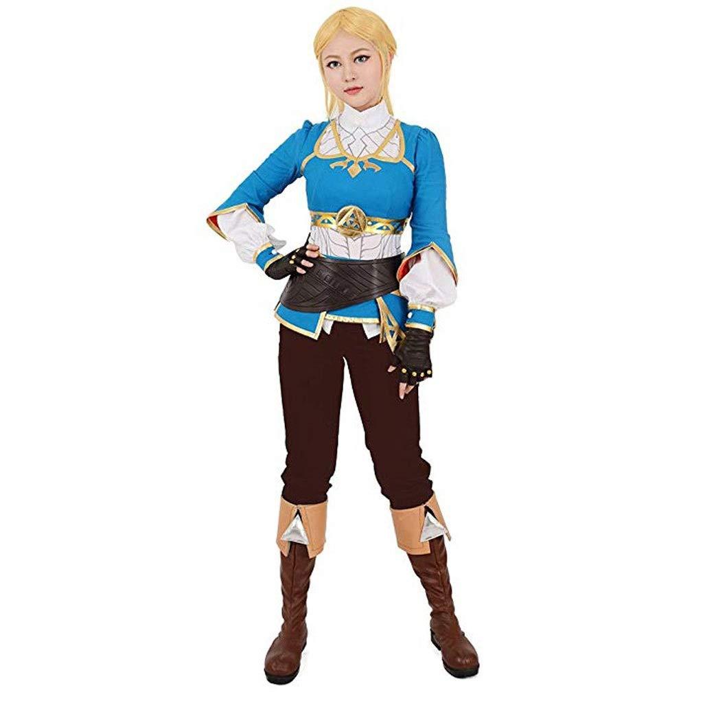 Women S Breath Wild Princess Cosplay Costume The Legend Of