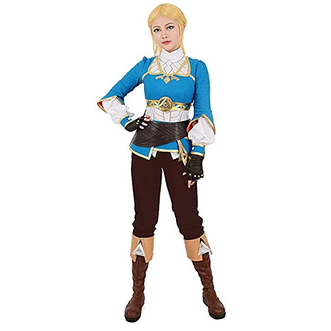 Women S Breath Wild Princess Cosplay Costume The Legend Of