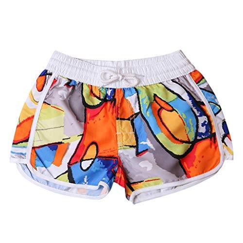 High Waist Shorts for Women,Booty Fold Over/Regular Shorts Dance Yoga Sexy Exercise Dolphin Shorts
