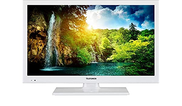Telefunken televisor LED (56 cm/22 Pulgadas, Full HD) 300 Hz DVB-T2 HD/S2/C2/blanco Color: Amazon.es: Electrónica