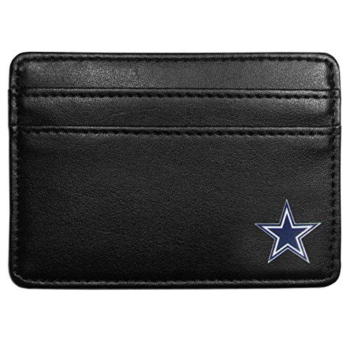 NFL Dallas Cowboys Leather Weekend Wallet, Black - Dallas Cowboys Wallet Leather