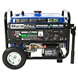 DuroMax. T-XP5500EHAC1RM XP5500EH Gas/Propane Powered Dual Fuel Portable Generator-R