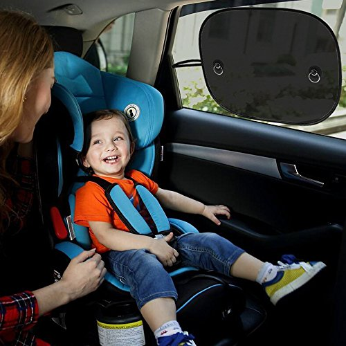 MBLAI Car Sun Shade (3 pack), Car Window Shade For Car Side and Rear Windows, Maximum UV Protector for Baby Child