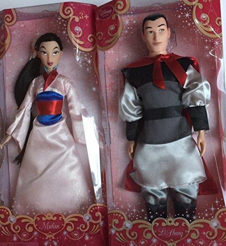 Disney Store Classic Doll Mulan & Li Shang (Li Shang Costume)