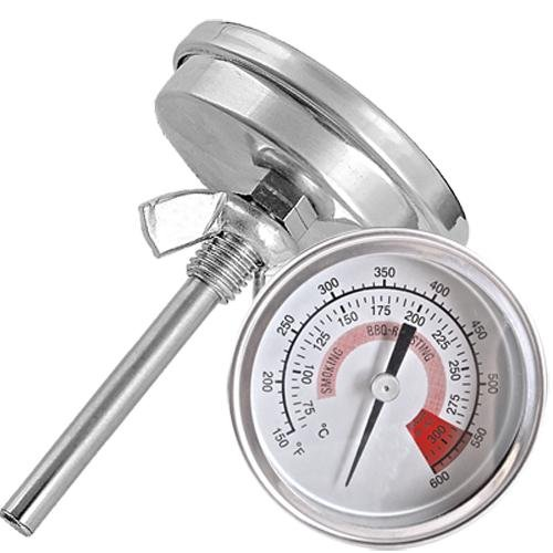 Easy Provider® Barbecue BBQ Pit Smoker Grill Thermometer Temp Gauge