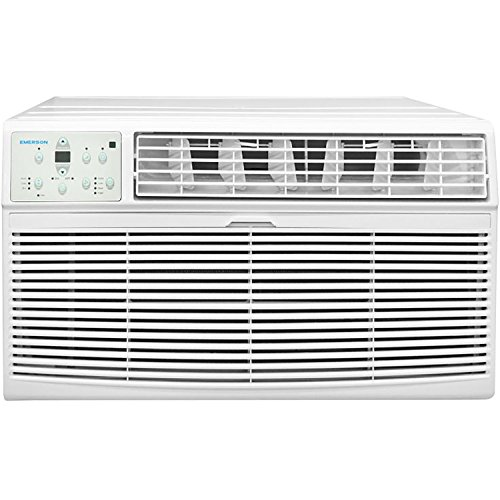 (Emerson Quiet Kool 115V 12K BTU Through The Wall, White Air Conditioner,)