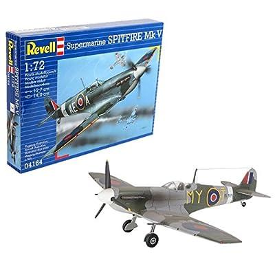 Revell 04164 Spitfire Mk.V Model Kit: Toys & Games