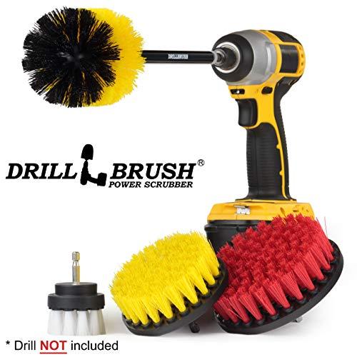 Cleaning Supplies - Bathroom Accessories - Drill Brush - Bath Mat - Shower Cleaner - Sliding Door - Carpet Cleaner - Scrub Brush - Bird Bath - Garden Statues - ()