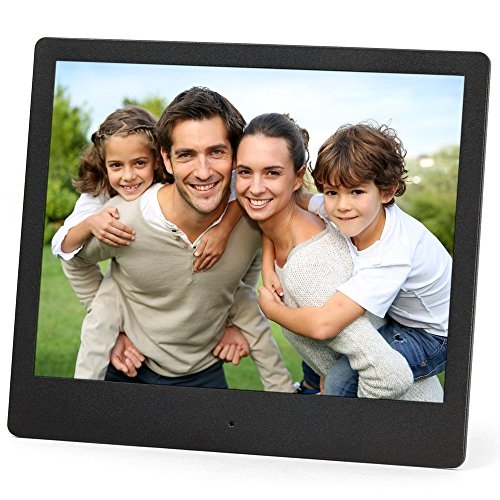 Cheap Micca NEO 8-Inch Digital Photo Frame with High Resolution IPS LCD, MP3 Music and 720P HD Video Playback, Auto On/Off Timer, Ultra Slim Design (M803A)
