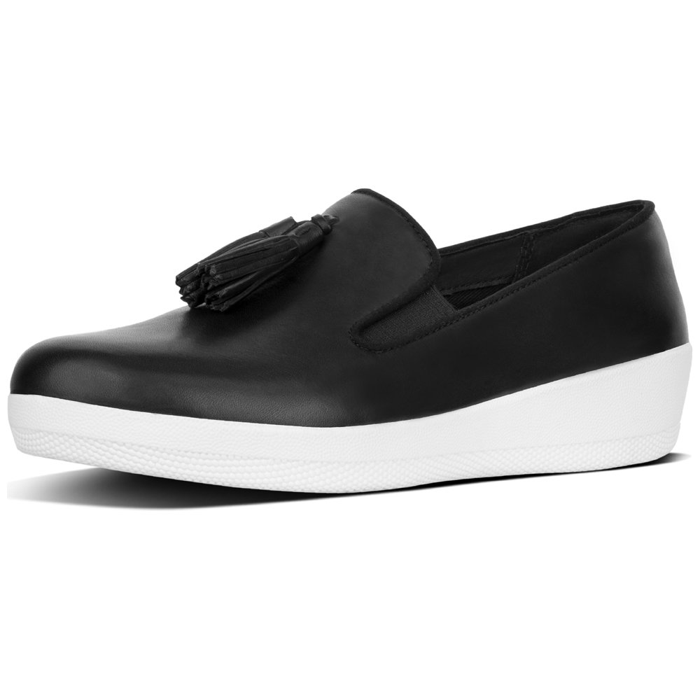 cd14448e8def Fitflop Women s Tassel Superskate Loafers  Amazon.co.uk  Shoes   Bags