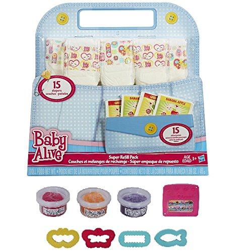 baby alive food refill packs - 5
