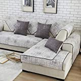 Royhom Sofa SEAT Cover Sofa Protector Keeps Furniture Safe from Kids Dogs Pets (Not Include Backrest & Armrest Cover) Graffiti 35'' x 71'' (1pc)
