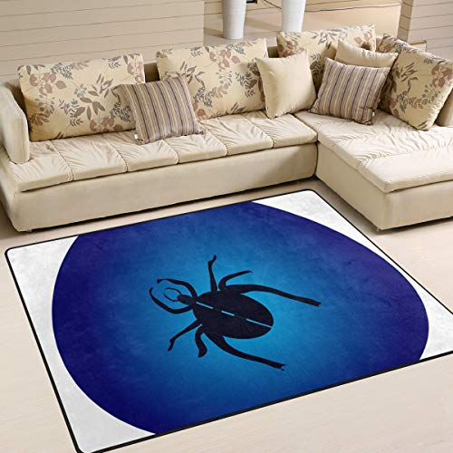 Amazon Com Lorvies Crawl Insect Spider Web Area Rug