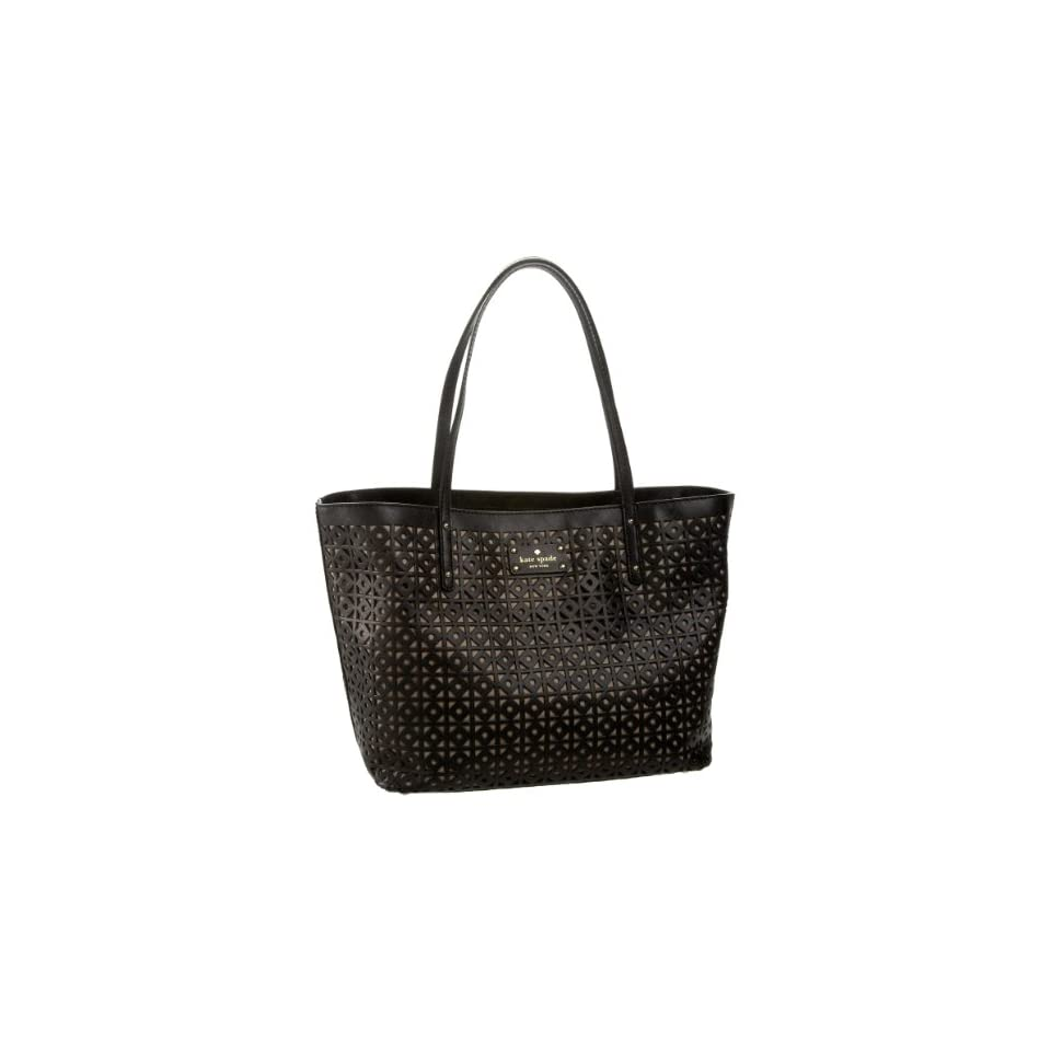 Kate Spade Garden Place Small Coal Tote,Black,one size