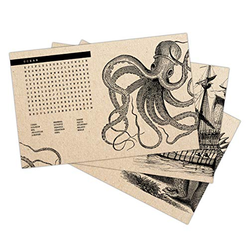 (Paper Placemats - 48 count - 11