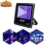 Tools & Hardware : UV Black Light, Escolite 395nm Ultraviolet 10W LED Flood Light Outdoor for Blacklight Run,UV Glow Party