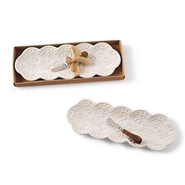 Mud Pie Knot & Beau Platter Set
