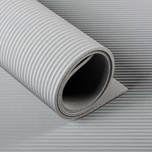 Gummimatten Technikplaza GmbH Feinriefenmatte 3mm | Gummil/äufer 120cm breit