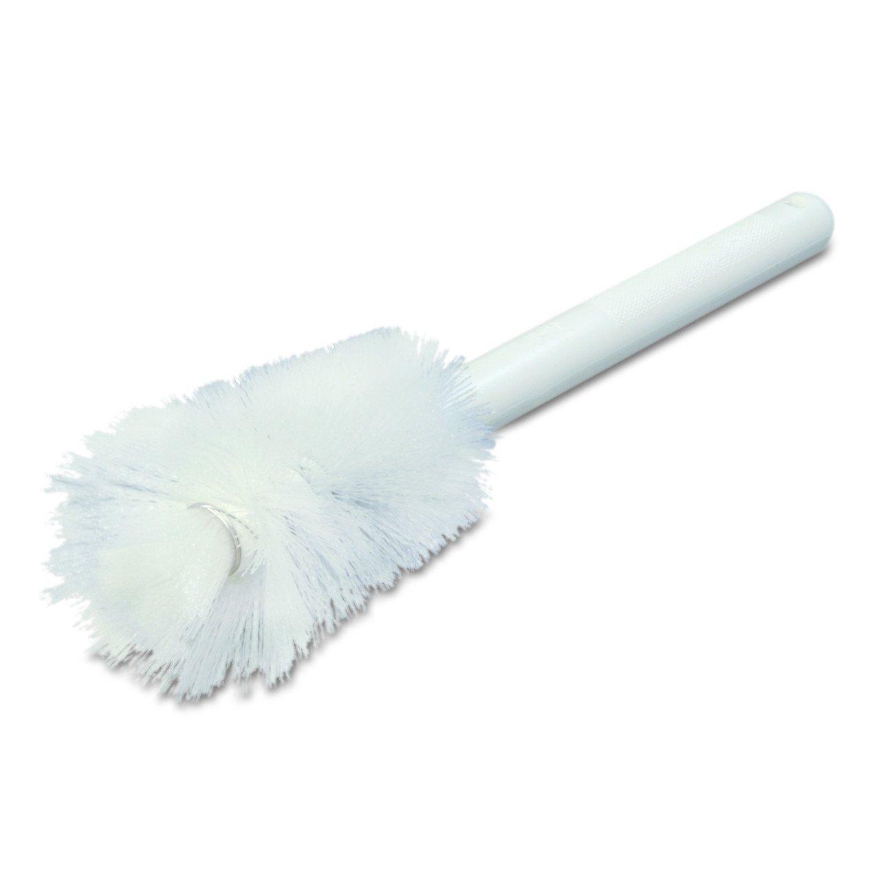 Carlisle 4046600 Sparta Handle Pint Bottle Brush, Polyester Bristles, 2-1/2' Bristle Diameter, 12' Overall Length 2-1/2 Bristle Diameter 12 Overall Length Carlisle Corporation 40466-00
