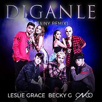Amazon.com: Díganle (Tainy Remix): Becky G & CNCO Leslie ...