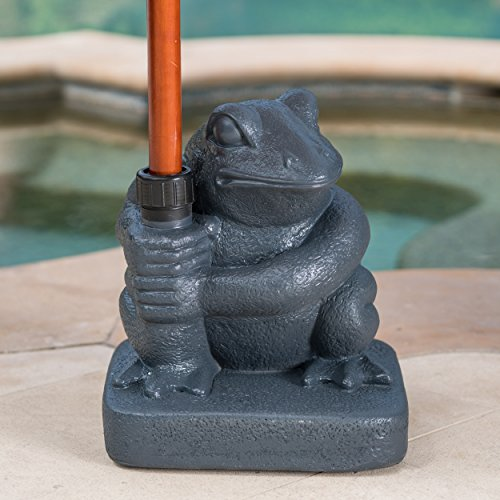 Christopher Knight Home Northam 55 Pound Force Be with Frog Umbrella Base