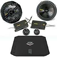 Kicker 40CSS654 6.5 Component Set with 200 watt DUB 2 Channel Amplifier