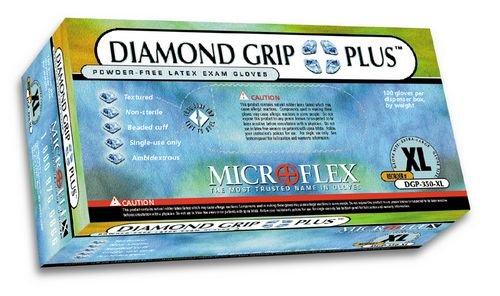 Diamond Grip Plus Medium (DGP-350-M) *Case by Microflex