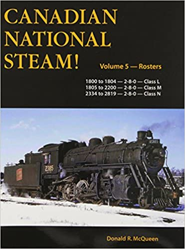 Buy Canadian National Steam!: Rosters: Road Numbers 1800 to