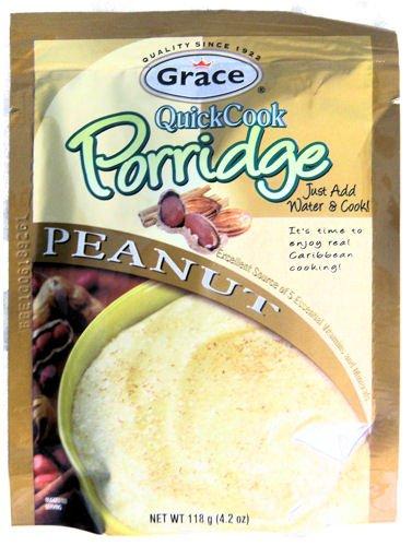 Grace Quick Cook Peanut Gachas sólo tiene que añadir agua ...