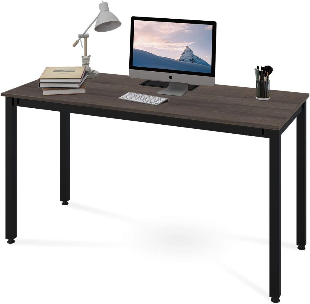 DEVAISE 55 Computer Desk, PC Laptop Table, Writing Desk for Home and Office