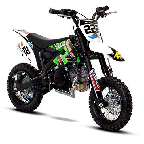 FunBikes Cobra 4S 50cc 62cm Kids Mini Dirt Bike electric start 4 stroke...