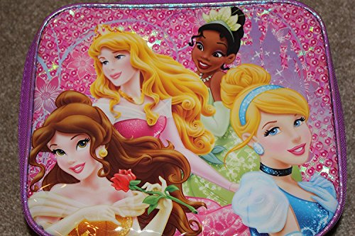 Disney Princess Insulated Purple Lunchbox
