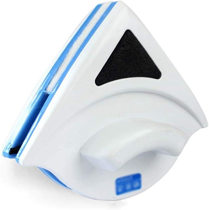 Limpiador de ventana magnético Limpiador de ventanas magnético de doble cara Limpieza de cristal magnético del cepillo Ventana del cepillo del depurador que limpia ventanas (blanco / capa simple 3-8mm: Amazon.es: Hogar