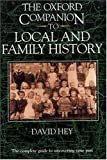 img - for The Oxford Companion to Local and Family History book / textbook / text book