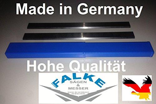2 Stück 260x18x3 mm HSS 18%Wolfram Hobelmesser Hoch Qualität...