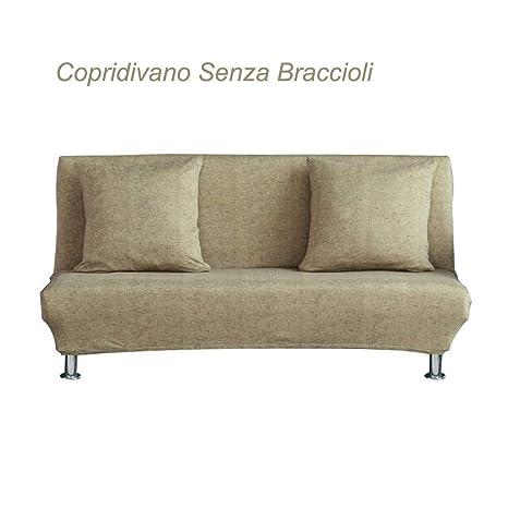Sue Supply - Funda de sofá Cama de Tela elástica para sofá o Cama, Plegable, sin Brazos, Cubierta de futón para decoración de salón, 4 Colores