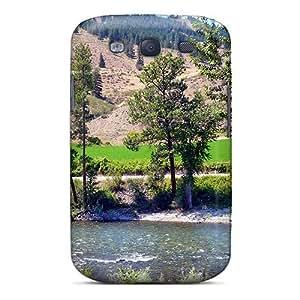 High Grade Mialisabblake Flexible Tpu Case For Galaxy S3 - Methow River