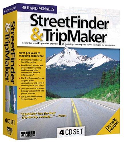Rand Mcnally Tripmaker >> Rand Mcnally Streetfinder And Tripmaker