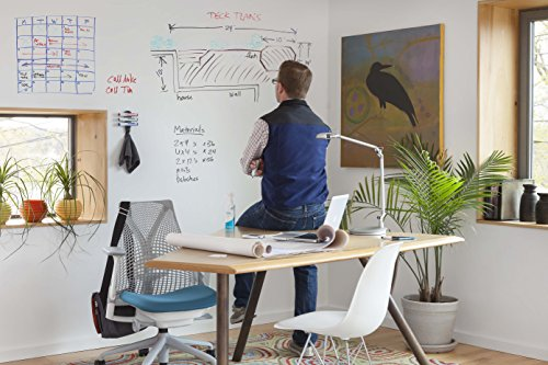 IdeaPaint Home White Dry Erase Paint Kit, 40 SQ FT | Turn Any Surface Into a Premium Whiteboard Surface
